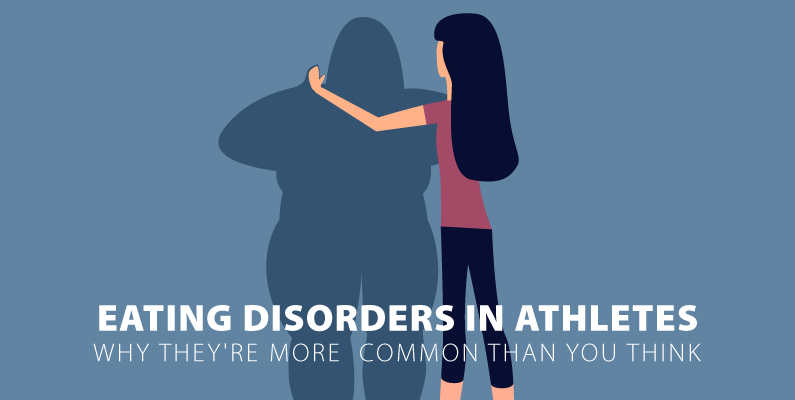 eating disorders in athletes graphic