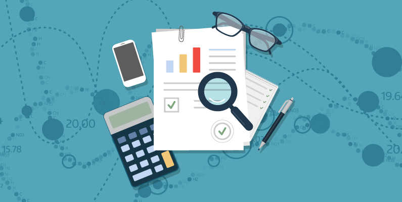 Assorted accounting documents