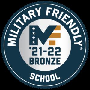 Military Friendly School Bronze 2021-2022